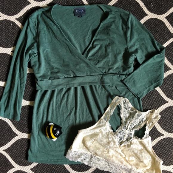 M Maternity Lilac Gown /& Robe Set S Motherhood Nursing NWT Baby L